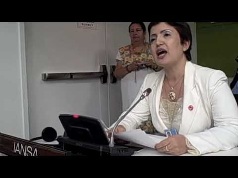 Widad Akrawi Speech BMS 2010: Culture of Peace (Arabic)