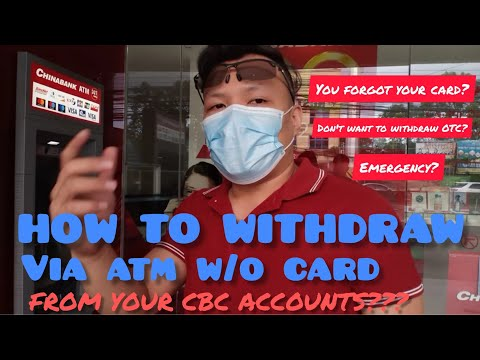 CARDLESS ATM WITHDRAWAL WITH 2 EASY STEPS TUTORIAL
