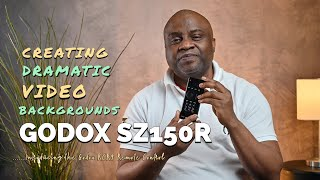 HOW TO CREATE DRAMATIC & COLORFUL VIDEOS FOR YOUTUBE | GODOX RCR9 REMOTE & SZ150R LED COB LIGHT