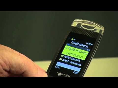 """MOBILE Klapp-Notruf-Handy """"XL-937"""" mit GarantRuf von simvalley (PX-3458-821)"""
