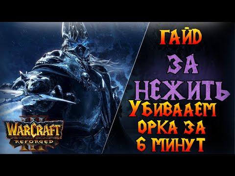 Как выиграть орка за 6 минут ? \\ Warcraft 3 Reforged - Гайд за Нежить