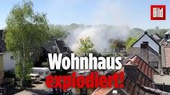 Eine Doppelhaus-Hälfte stürzte in Köln ein