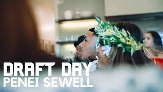 "Penei Sewell: NFL Draft Day (Tells Detroit Lions ""You Won't Regret It"")"
