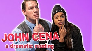 John Cena & I Dramatically Read Migos, Nicki Minaj & Cardi B's  'MotorSport'