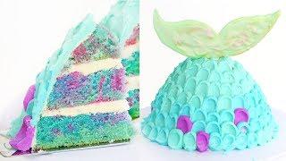 How to Make a Mermaid Fin Cake  RECIPE