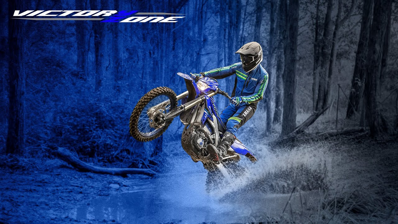 All new 2021 WR450F: Born to ride