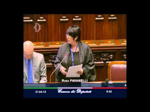 Rosa Pavanelli at the Conference of the Speakers of the European Union Parliaments - ENGLISH