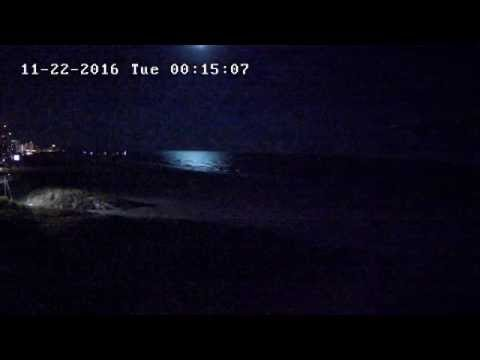 Fireball Over Gulf of Mexico from Clearwater Beach