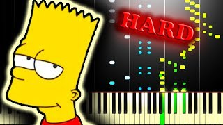 THE SIMPSONS THEME - Piano Tutorial