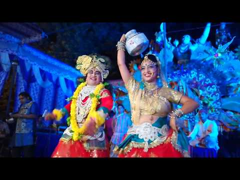 कान्हा टूट जाएगी मटकी। krishna Radha Dance in Delhi, kyu matak matak ke chale Radhe, New Song.