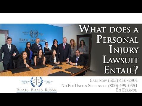 Miami Injury Lawyer Explains Personal Injury Lawsuit Responsibility