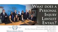 Miami Injury Lawyer Explains Personal Injury Lawsuit Responsibility