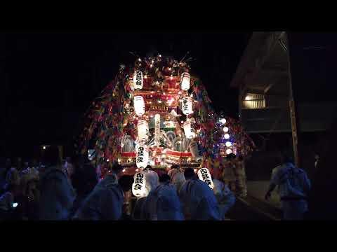 2018東二島祇園山笠
