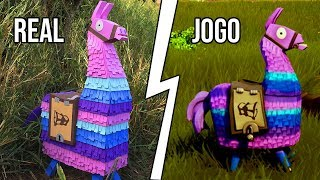 I MADE THE LLAMA OF THE FORTNITE IN FULL SIZE