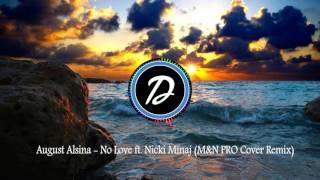 August Alsina - No Love ft. Nicki Minaj (M&N PRO Cover REMIX)