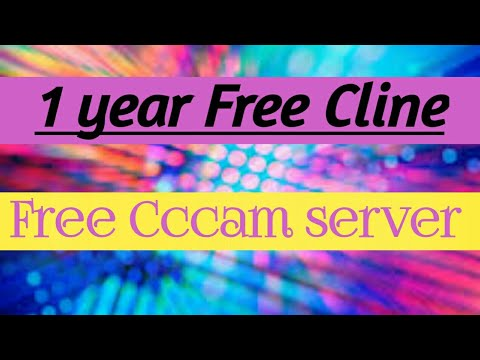 1 year free cccam server 2019-2020 1 year free cline for dishtv only