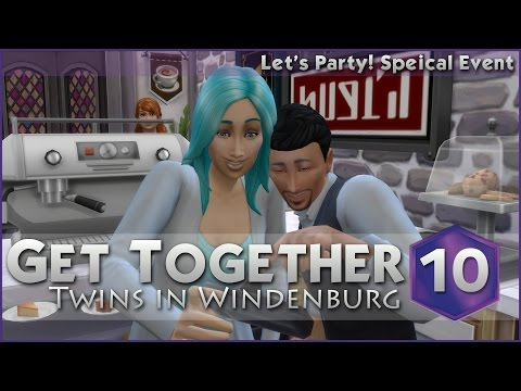 Lingering Over Coffee || Sims 4 Get Together - Episode #10