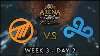 Method NA vs Cloud9 | Week 3 Day 2 | AWC SL Circuit
