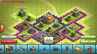 #355 Clash of Clans: Town Hall 7 Hybrid Base Speed Build