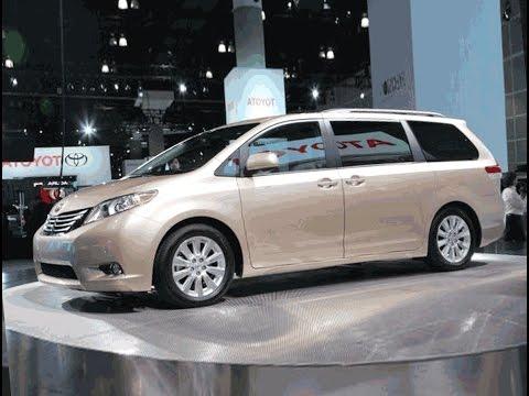 2017 Toyota Sienna Minivan Gas Mileage