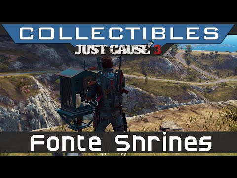 Just Cause 3 - All Insula Fonte Rebel Shrines Locations Guide