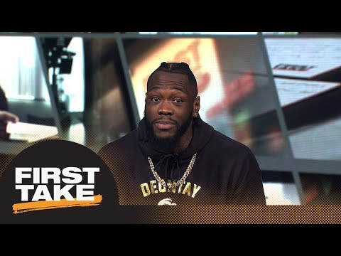 Max and Stephen A. interview Deontay Wilder before fight against Luis Ortiz | First Take | ESPN