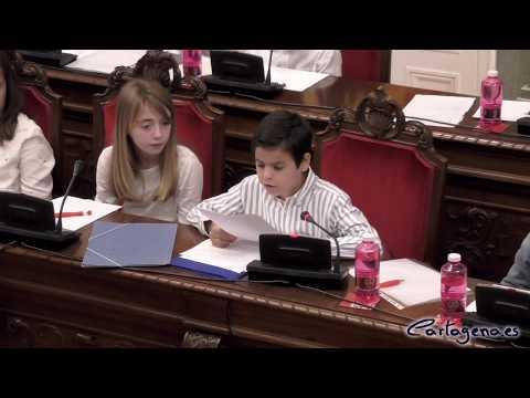 Pleno Municipal Infantil del Colegio Hermanos San Isidoro y Santa Florentina
