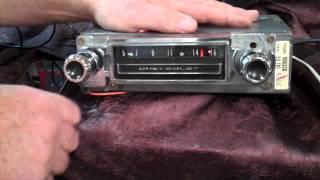 1964 Chevy C-10 Pickup Truck original AM radio