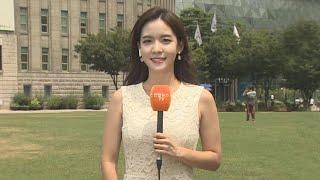 날씨 중부 폭염 서울 37도…남부 점차 태풍 영향  연…