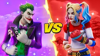JOKER VS HARLEY QUINN