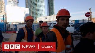 Россия-Ўзбекистон: Мигрант уйига юборган пулнинг қанчасини йўқотади? - BBC Uzbek