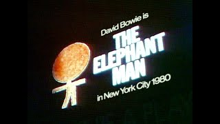 David Bowie is The Elephant Man in New York City 1980 • 40th Anniversary Documentary Trailer • 2020
