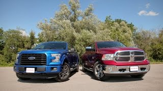 2015 ford f 150 2 7l ecoboost vs 2015 dodge ram 1500 ecodiesel comparison