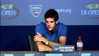2011 US Open Press Conferences: Juan Martin del Potro (Second Round)
