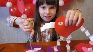 DIY делаем валентинку Валентинка своими руками