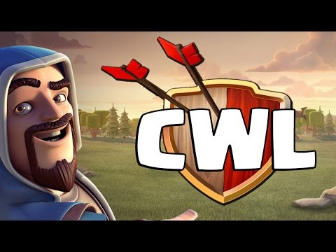 CHAMPIONS WAR LEAGUE IN CLASH OF CLANS   CAM IS IN THE CWL TOURNAMENT
