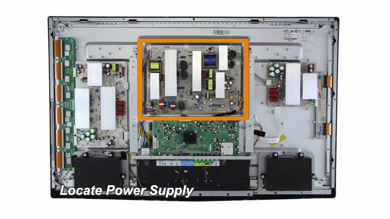 Vizio VP4 0940-0000-2270 Power Supply Boards Replacement Guide for ...