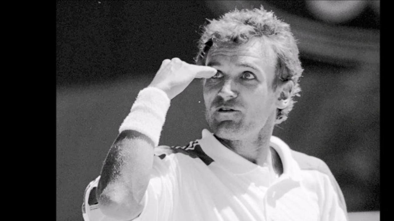 Joueur de Tennis Mats Wilander