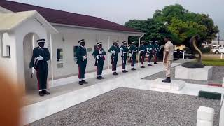 NIGERIAN ARMY 2018 QUARTER GUARD ROCK