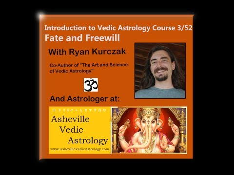 Fate vs Freewill - Introduction to Vedic Astrology Course 3/52