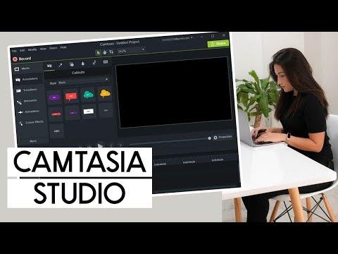 CAMTASIA STUDIO - Los mejores programas para editar videos de Youtube 2018