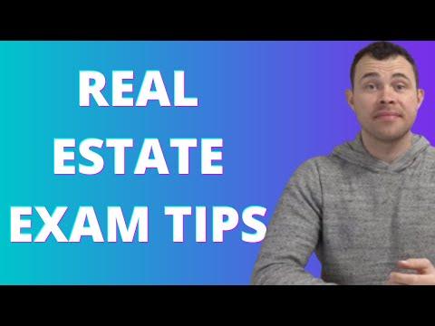 Tips Taking Real Estate Exam- Massachusetts Video