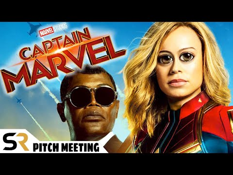 Captain Marvel Pitch Meeting