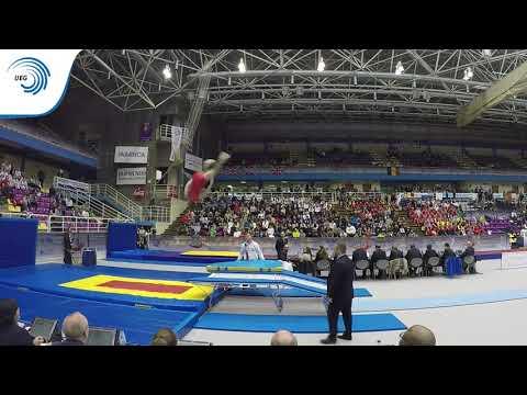 Aleksandr ODINTSOV (RUS) - 2016 Double Mini-Trampoline Europeans, silver medallist