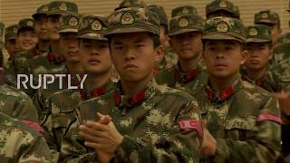 China: Russia and China show anti-terror capability in joint military drills