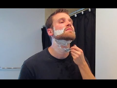 beard trim with safety razor our daily shave ep 9 youtube. Black Bedroom Furniture Sets. Home Design Ideas