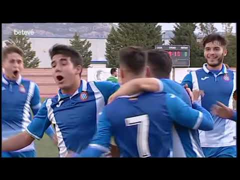 Resum Ascó 0 - 3 Espanyol B (Resum de Betevé)