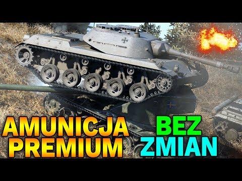 AMUNICJA PREMIUM BEZ ZMIAN !!! - Przyszłość World of Tanks
