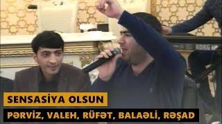 SENSASİYA OLSUN (Perviz Bulbule, Resad Dagli, Rufet Nasosnu, Valeh Lerik, Balaeli) Meyxana 2017