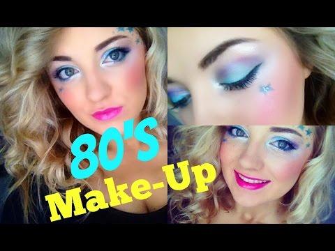 80's Girl Makeup Tutorial